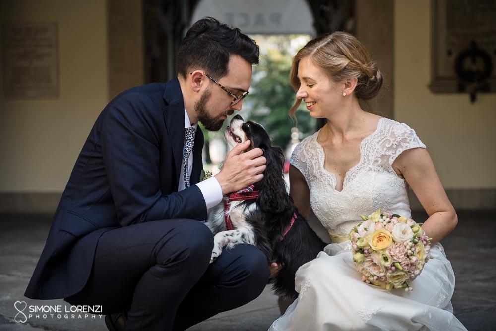 Sara e Nicolas – Matrimonio col cane presso l'agriturismo Le Quattro Terre – Franciacorta
