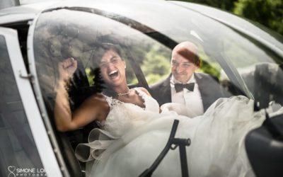 Francesca e Stefano – Matrimonio in elicottero al Castello di Marne – Filago, Bergamo