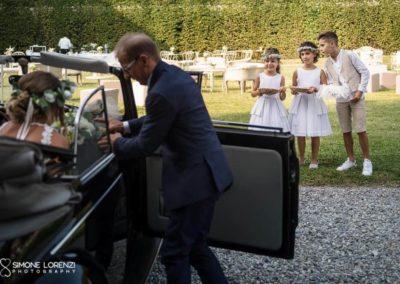 paggetti e damigelle al Matrimonio country chic in Villa Pesenti Agliardi, Bergamo