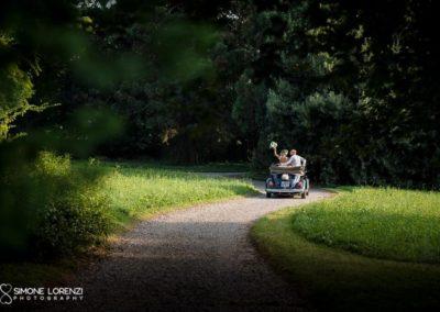 fuga d'amore al Matrimonio country chic in Villa Pesenti Agliardi, Bergamo