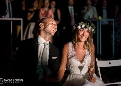 sposi commossi al Matrimonio civile in Villa Pesenti Agliardi, Bergamo
