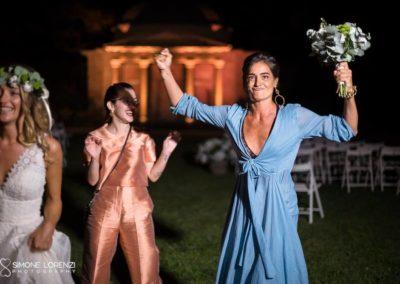 chi ha preso il bouquet al Matrimonio civile in Villa Pesenti Agliardi, Bergamo